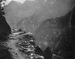 rugged path